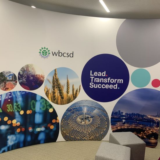 WBCSD – Corp Meet Up Nov 7
